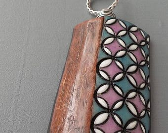 Long imitation wood and ceramic