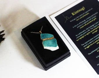 Kintsugi - light vines necklace