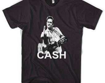 Johnny Cash Unisex T-Shirt All Sizes