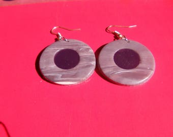 polymer clay and liquid polymer clay earrings