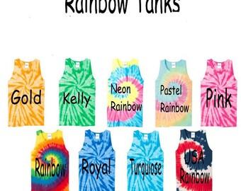 Tye Dye Tanks