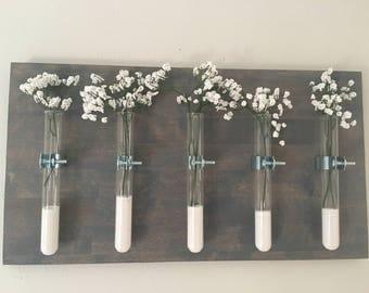 Test Tube Wall Vase