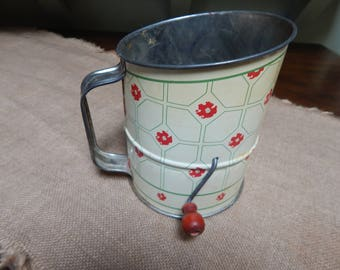 Large Vintage design with Poppy design