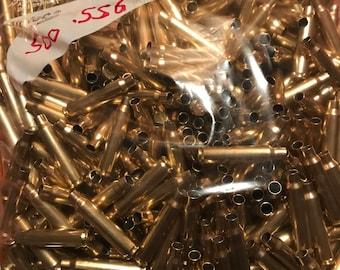5.56 Brass Casings 500 Count