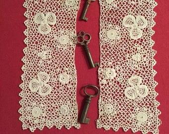 Irish Crochet Cuffs