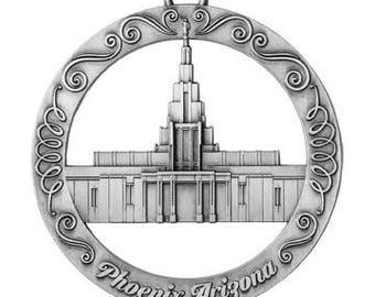 Phoenix Arizona LDS Temple Ornament