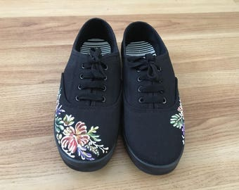 Hawaiian pattern shoese/ Floral  Shoes