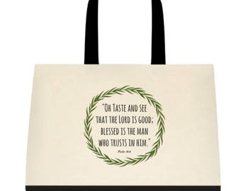 Goodness and Mercy Tote