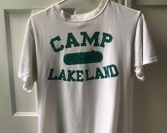 Camp Lakeland Vintage T-Shirt