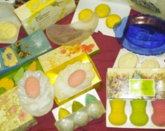 Vintage Avon Soap Sets and Pomander Lot