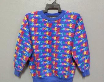 Rare!! Vintage Down Under Ken Done Australia Sweatshirt Full Print/Design
