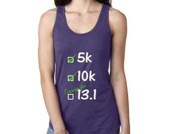 Training for 13.1 - RUNNING TANK TOP - Choose your tank color!