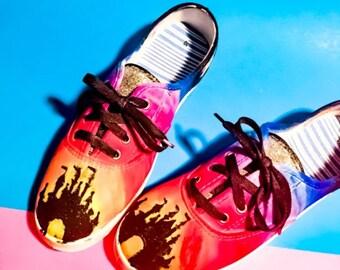 Glitter Castle Shoes