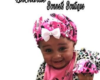 Babies Satin Bonnet's