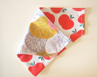 Apples & Woodland Reversible Bandana
