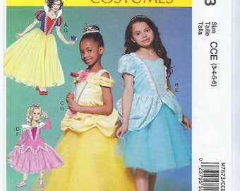 McCalls 7673 - CHILDRENS / GIRLS Costumes