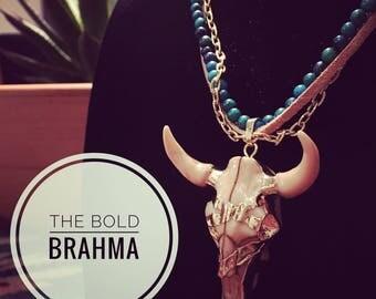 The Bold Brahma Necklace