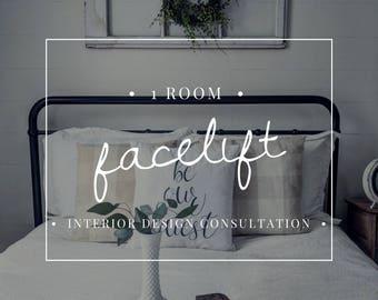 Interior Design Consultation - One Room
