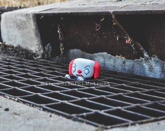 PENNYWISE FUNKO figure photography print