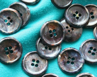 Buttons Bakelith Galalith Pigments