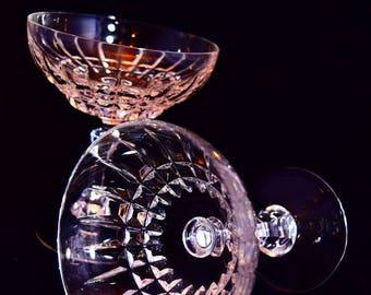 Lucky set of 7 Champagne Glasses - Nachtmann Astra Sektschale