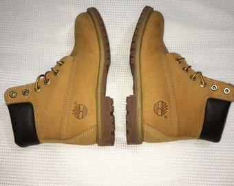 Timberland Boots Sample with Cut Off Tongue Size 7W
