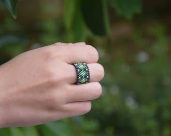 Miyuki Delica beads 11/0 ring