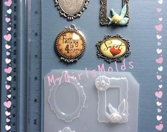 Plastic Mold / Cameos set