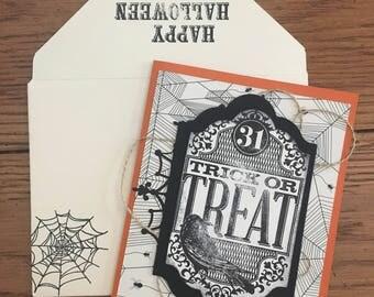 Halloween Cards (Set of 3)