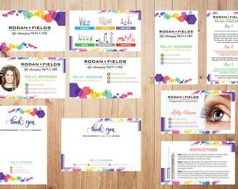 PERSONALIZED Rodan and Fields Marketing KIT, Rodan and Fields Marketing, Marketing Bundle, Rodan and Fields Combo RF17  RF17
