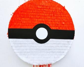 Birthday Celebration Pokeball Pinata (Pokemon). Birthday Celebration Piñata of Pokeball (Pokemon)