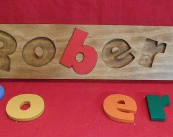Children Name Puzzle