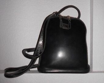 DOONEY and BOURKE vintage black leather backpack
