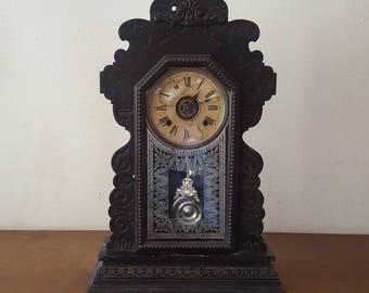 Large clock Ansonia New York late 19th century