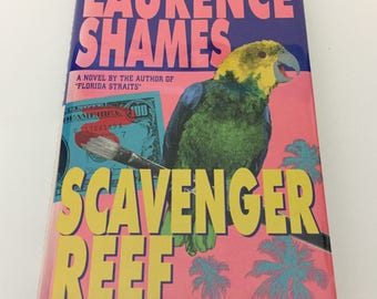 Scavenger Hunt Signed First Edition by Lawrence Shames