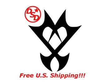 "Kingdom Hearts ""Unversed"" Vinyl Decal"