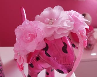 Pink Boutique Floral Headband