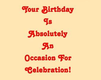 Extraordinary You Birthday Card