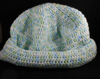 Crocheted Cap & Scarf - Over-sized