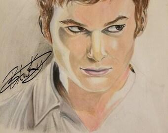 Dexter Morgan portrait