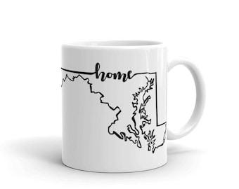 Maryland Home State - Coffee Mug