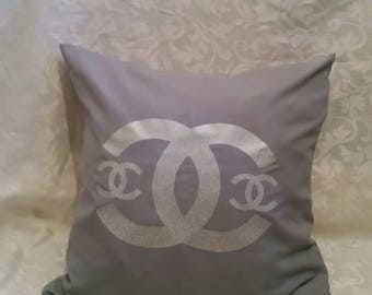 Chanel inspired cushion.