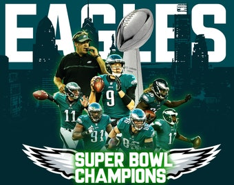 Philly Eagles Super Bowl Champions Poster