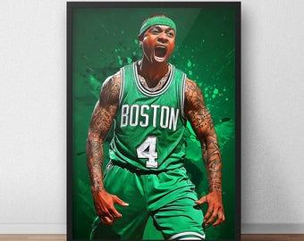 Isaiah Thomas Poster - Boston Celtics