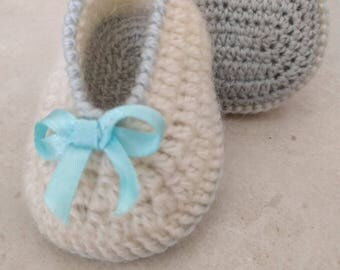 Baby booties crochet Newborn/baby shoes