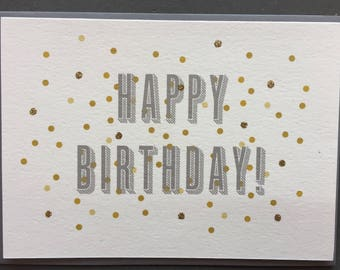 Happy Birthday (Greeting Card)