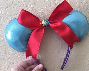 SALE! The Little Mermaid Inspired Minnie Ears!