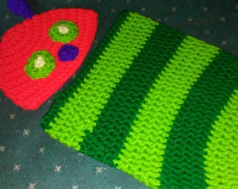 HUNGRY HUNGRY CATERPILLAR cocoon with matching hat