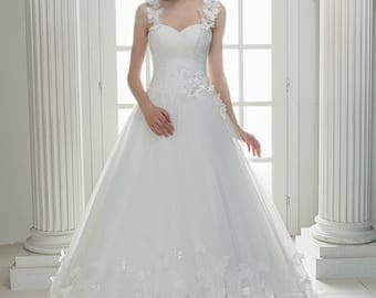 Wedding dress wedding dress bridal gown CRISTINA