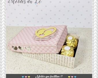 Box for 6 chocolates